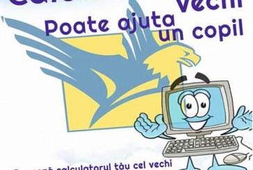 """""""Calculatorul tău vechi poate ajuta un copil"""", acțiune a PNL Dej"""