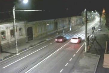 Liniuțe în centrul orașului la Gherla. Poliția i-a identificat pe șoferi – VIDEO