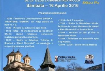 Pelerinajul tinerilor de la Iclod la Mănăstirea Nicula are loc sâmbătă