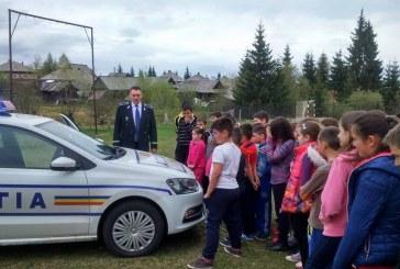 Polițiștii clujeni implicați în proiectul Școala Altfel