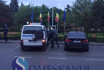 Alertă cu bombă la Gherla. O valiză suspectă a pus autoritățile pe jar – FOTO/VIDEO