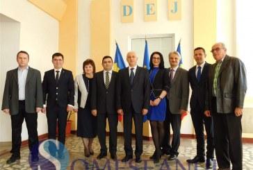 Aurelian Mureșan și candidații PNL la Consiliul Local Dej și-au depus azi candidaturile la Biroul Electoral