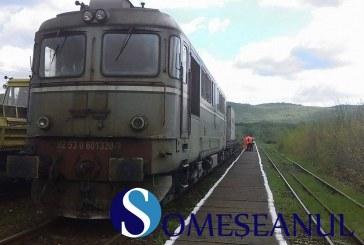 Trenul Braşov – Budapesta a luat foc în Sălaj. Mai mulți turiști străini au rămas ore întregi fără apă și mâncare