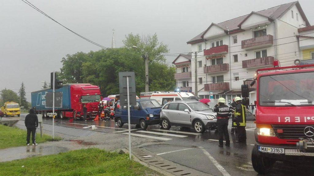 Acțiuni de prevenire a accidentelor rutiere ale polițiștilor bistrițeni
