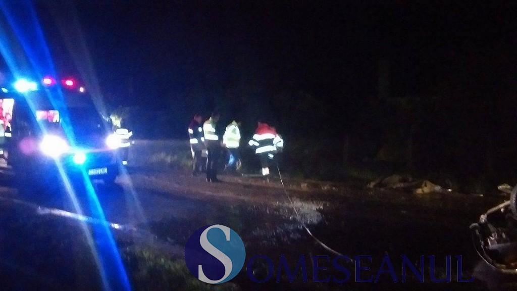 Accident mortal între Satulung şi Şomcuta Mare