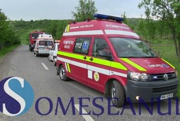 Accident la Mănăstirea, soldat cu doi răniți. Șoferul nu avea permis