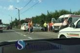 Accident grav la Răscruci. O mașină a ajuns în șanț – FOTO/VIDEO