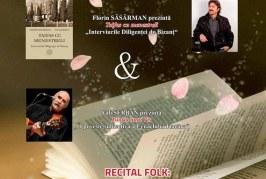 Lansare de carte și recital de muzică folk la Dej