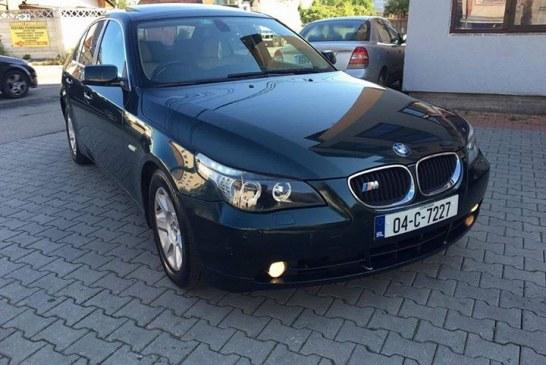 BMW furat din Bistrița, găsit la Cluj. Hoțul a sustras bolidul din fața casei proprietarului