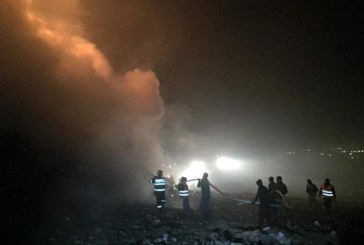 Incendiu la rampa de gunoi de la Pata Rât. Focul ar fi fost provocat intenționat