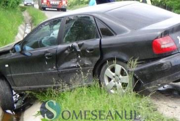 Un nou accident în locul blestemat din Mănăstirea. Două mașini s-au ciocnit – FOTO/VIDEO
