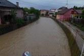 Dejul, sub cod galben de inundații. Care este situația în teren la Dej, pe Valea Jichișului sau în Ocna Dej – FOTO/VIDEO
