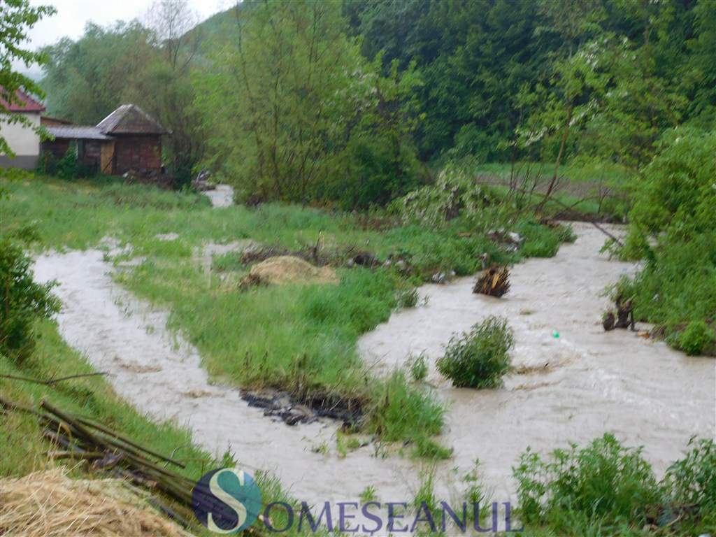 someseanul-cod galben de inundatii la dej (5)