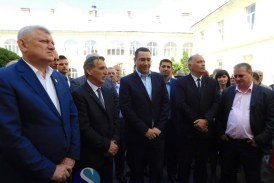 Victor Ponta, în vizită electorală la Dej, pentru susținerea candidaților PSD – FOTO/VIDEO