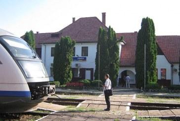Bombă descoperită în gara din Jibou în urma unor lucrări