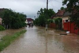 Cod galben de inundații în zona văii Someșului