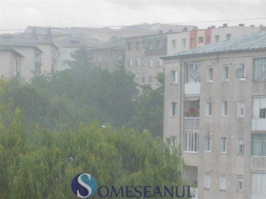 someseanul-ploi torentiale inundatii dej (4)