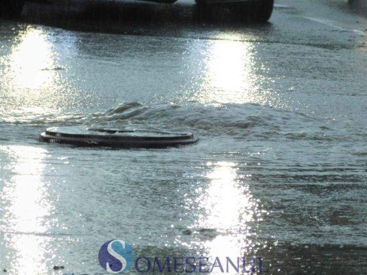 someseanul-ploi torentiale inundatii dej (8)