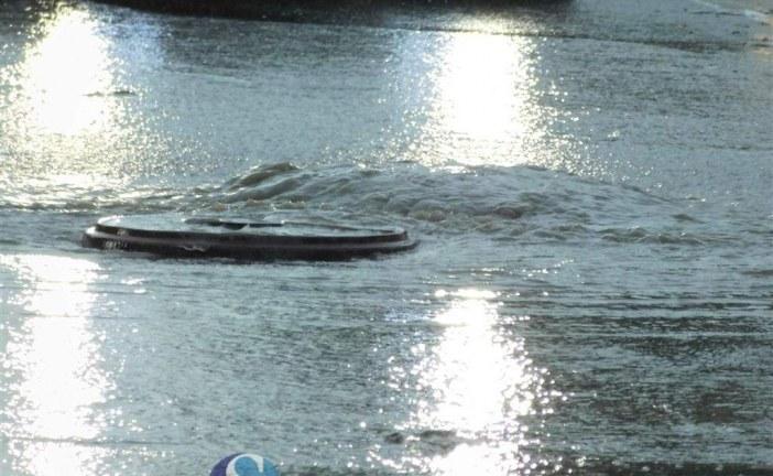 Urmările furtunii: Școală inundată la Zalău