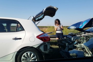 Accidente în lanț pe drumul spre mare. 21 autovehicule au fost implicate