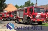 Alarmă de incendiu la Spitalul din Gherla. Trei autospeciale de pompieri au intervenit  FOTO/VIDEO