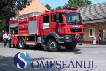 """""""La mulţi ani"""" pompierilor dejeni, din partea primarului municipiului Dej"""