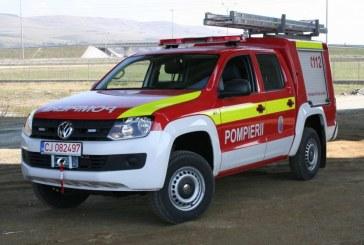 Pompierii dejeni au primit o autospecială nouă de intervenție rapidă