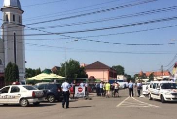 Acțiuni ale polițiștilor pentru buna desfășurare a Festivalului Electric Castle – FOTO