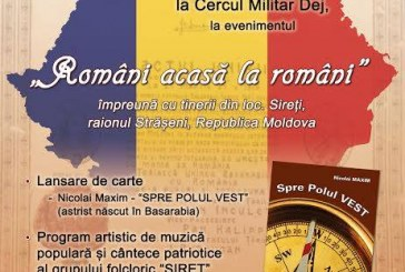 """Eveniment """"Români acasă la români"""", mâine la Dej, cu lansare de carte și spectacol artistic"""
