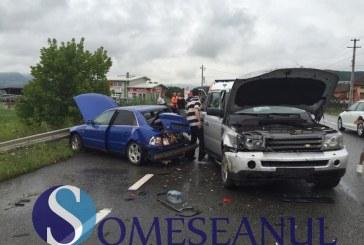 Trei autovehicule implicate în accident la Bunești – FOTO/VIDEO