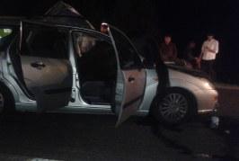Patru victime după ce un autoturism a lovit un cal pe carosabil – FOTO