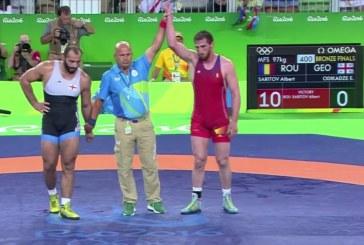 A cincea medalie la JO 2016 pentru România. Albert Saritov a cucerit bronzul la lupte libere