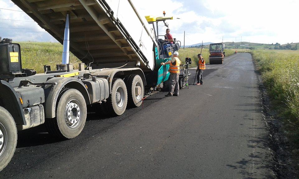 asfaltare drum judetean cluj 3