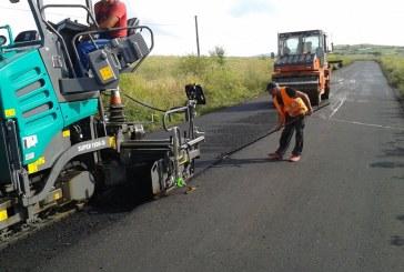 A demarat modernizarea unui nou drum judeţean din zona montană a Clujului