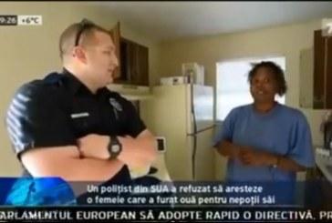 Gest EMOȚIONANT făcut de un polițist din SUA – VIDEO
