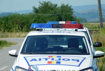 Alcool fără acte confiscat de polițiști, dintr-un spațiu comercial din Dej