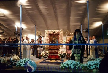 Noapte petrecută în rugăciune de mii de credincioși la Mănăstirea Nicula – FOTO/VIDEO