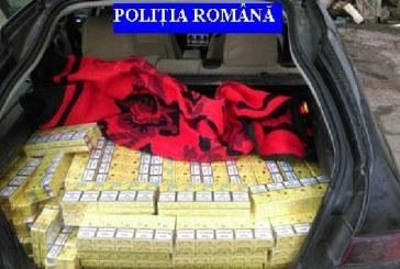 Ţigări de contrabandă confiscate de poliţişti la Baia Sprie