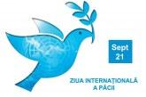 Ziua mondială a păcii, celebrată la 21 septembrie