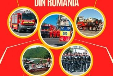 Ziua pompierilor din România, sărbătorită  la Cluj, în Parcul Central