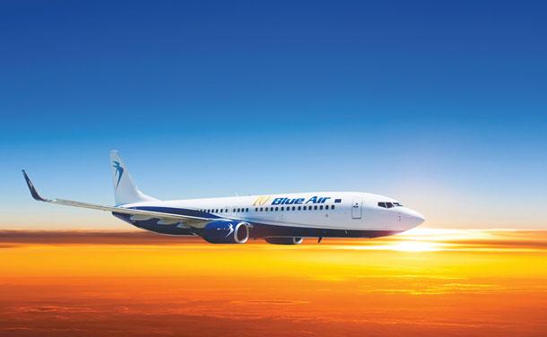 Blue Air anunţă noua rută Cluj-Napoca – Tel Aviv