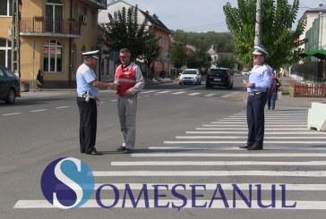 POLIȚIA: Campania Pietoni în Siguranță a ajuns azi la Gherla – FOTO/VIDEO
