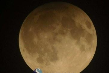 Eclipsa de Lună plină în penumbră, deasupra Dejului – FOTO