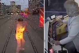 Groaznic! O femeie, distrasă de telefonul mobil, a lovită mortal de un tramvai – VIDEO
