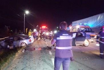 Accident teribil pe DN 1C la Buneşti. Șapte victime după impactul a trei autoturisme – FOTO/VIDEO