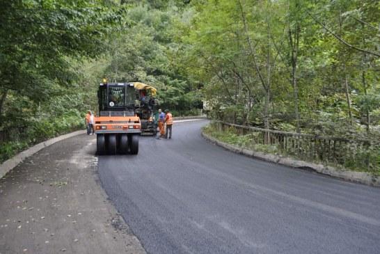 Amplu program de modernizare și reabilitare a drumurilor județene inițiat de Consiliul Județean Cluj