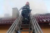 Intervenție a pompierilor dejeni la un incendiu izbucnit în Șomcutu Mic