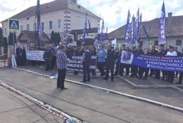 Angajații din penitenciare declanșează protestele pe durată nedeterminată