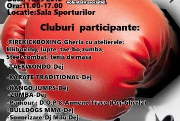 """""""Sport pentru sport"""", eveniment caritabil destinat copiilor cu nevoi speciale din Dej"""