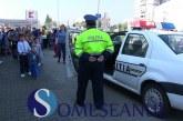 """Zeci de copii au participat astăzi la acțiunea poliției – """"Verde la Educație pentru Circulație"""" – FOTO/VIDEO"""